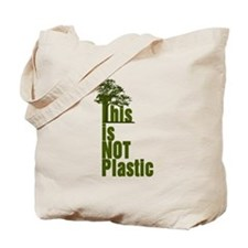 This is NOT Plastic Tote Bag