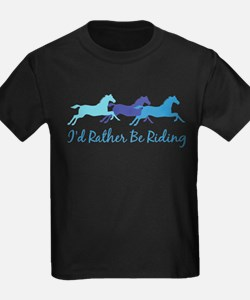 I'd Rather Be Riding T