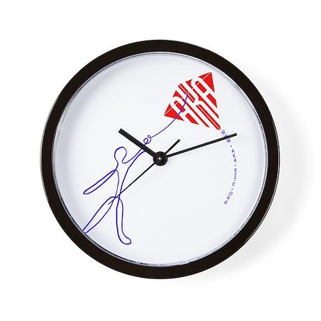 String man Wall Clock