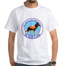 black and tan GSD partner Shirt