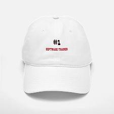 Number 1 SOFTWARE TRAINER Baseball Baseball Cap