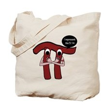 Gangsta Pi Tote Bag