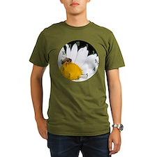 Bee on Shasta Daisy T-Shirt