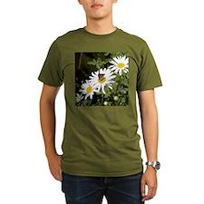 Butterfly on Shasta Daisy T-Shirt