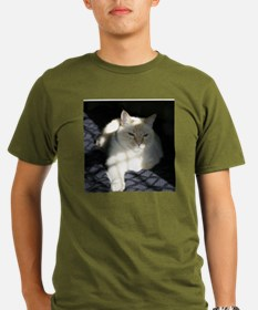 Flame Point Cat T-Shirt