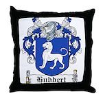 Hubbert Coat of Arms Throw Pillow