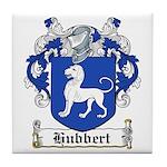 Hubbert Coat of Arms Tile Coaster