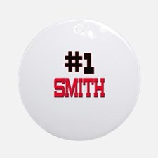Number 1 SMITH Ornament (Round)