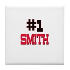 Number 1 SMITH Tile Coaster