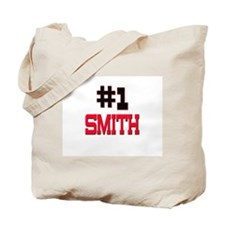 Number 1 SMITH Tote Bag