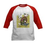 Assorted Poultry #3 Kids Baseball Jersey