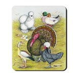 Assorted Poultry #3 Mousepad