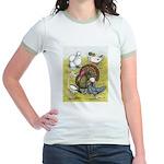 Assorted Poultry #3 Jr. Ringer T-Shirt