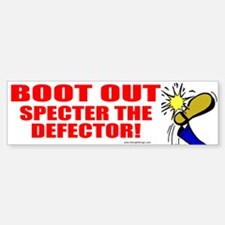 Boot Specter The Defector Bumper Bumper Bumper Sticker