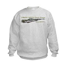 Free Men own rifles Sweatshirt