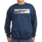 Free Men own rifles Sweatshirt (dark)