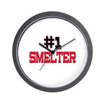 Number 1 SMELTER Wall Clock