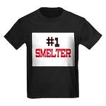 Number 1 SMELTER Kids Dark T-Shirt