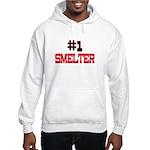 Number 1 SMELTER Hooded Sweatshirt