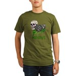 Nihilist Skull Organic Men's T-Shirt (dark)