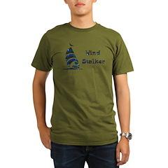 Wind Stalker Organic Men's T-Shirt (dark)