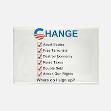 Cute Impeach obama Rectangle Magnet