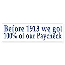 Anti Fed 100% Paycheck