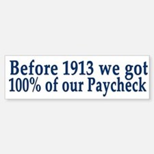 Anti Fed 100% Paycheck