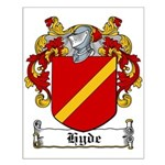 Hyde Coat of Arms Small Poster