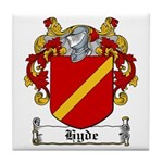 Hyde Coat of Arms Tile Coaster