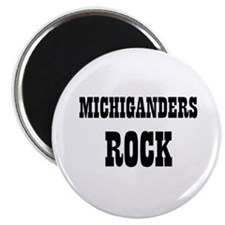 "MICHIGANDERS ROCK 2.25"" Magnet (10 pack)"