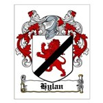 Hylan Coat of Arms Small Poster