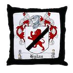 Hylan Coat of Arms Throw Pillow