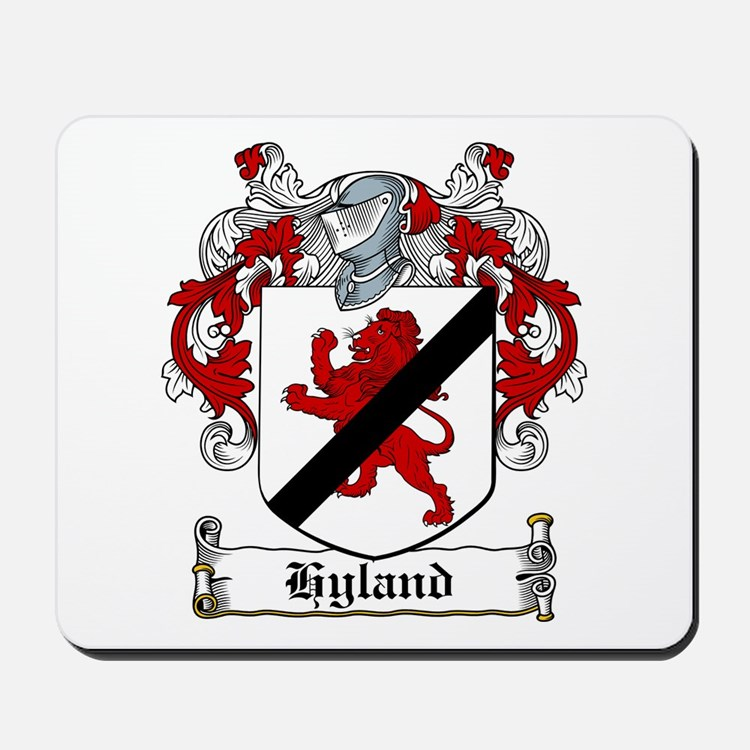Hyland Coat of Arms Mousepad