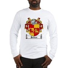 Jones Coat of Arms Long Sleeve T-Shirt