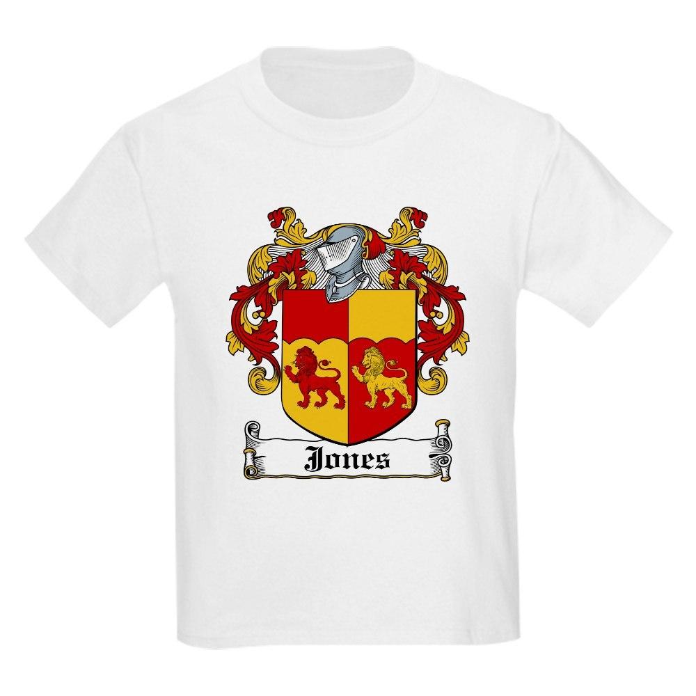 CafePress Jones Coat of Arms Kids T-Shirt
