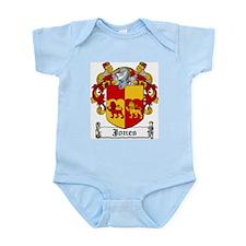 Jones Coat of Arms Infant Creeper