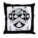 Judge Coat of Arms Throw Pillow