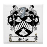 Judge Coat of Arms Tile Coaster