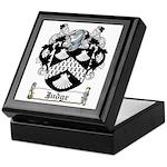 Judge Coat of Arms Keepsake Box