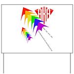 AKA Sport Kite Stacks Yard Sign