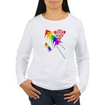 AKA Sport Kite Stacks Women's Long Sleeve T-Shirt