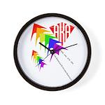 AKA Sport Kite Stacks Wall Clock