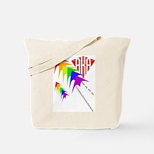 AKA Sport Kite Stacks Tote Bag