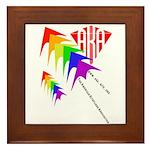 AKA Sport Kite Stacks Framed Tile
