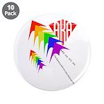 "AKA Sport Kite Stacks 3.5"" Button (10 pack)"