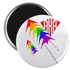 """AKA Sport Kite Stacks 2.25"""" Magnet (10 pack)"""