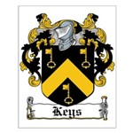 Keys Coat of Arms Small Poster