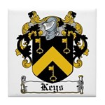 Keys Coat of Arms Tile Coaster