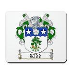 Kidd Coat of Arms Mousepad